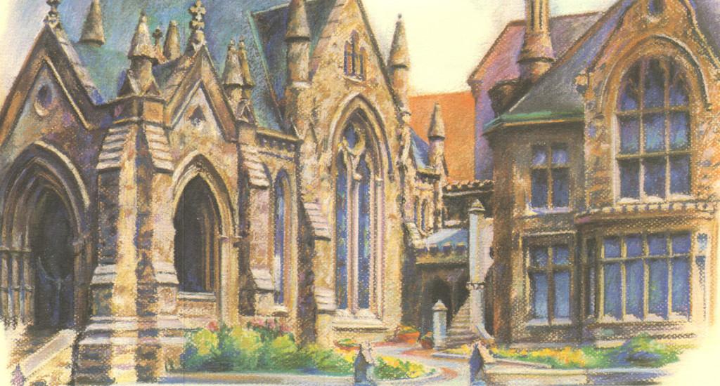 church-fold